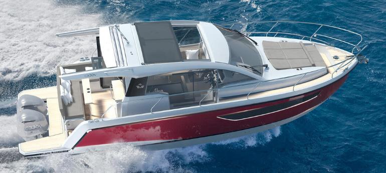 Sealine presents the new C330V